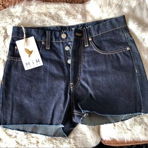 Mih denim shorts by Anthropolgie